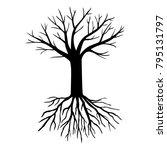 vector illustrations of tree... | Shutterstock .eps vector #795131797