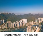 aerial photography of ap lei... | Shutterstock . vector #795139531