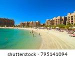 ras al khaimah  united arab... | Shutterstock . vector #795141094