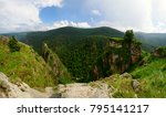 amazing nature panorama view of ... | Shutterstock . vector #795141217