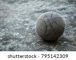 Basketball In Black