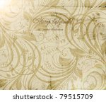 classical wallpaper with a...