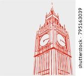 london vector illustration | Shutterstock .eps vector #795163039