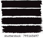 grunge banners.grunge... | Shutterstock .eps vector #795165697