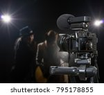 professional digital mirrorless ... | Shutterstock . vector #795178855