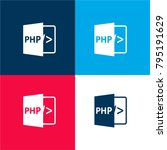 php four color material and...