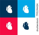 anatomic heart four color...