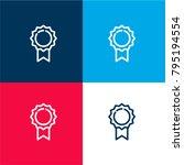 quality badge four color...