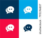 live chat four color material...