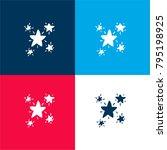 starry doodle four color...