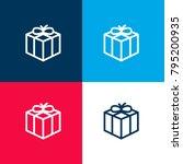 christmas present four color...