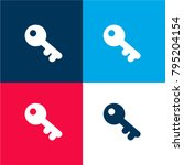 old key four color material and ...
