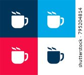 hot coffee cup four color...