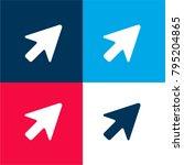 cursor arrow four color... | Shutterstock .eps vector #795204865