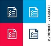 verified commercial list four... | Shutterstock .eps vector #795206584