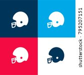 football helmet four color...