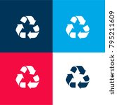 recycle triangular symbol of...