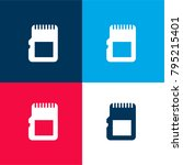 sd card four color material and ...