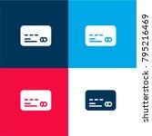 credit card four color material ...