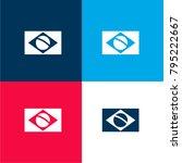 brazil flag four color material ... | Shutterstock .eps vector #795222667