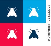fly shape four color material...