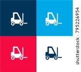 logistics transport four color...