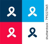 symbolic cancer ribbon four...