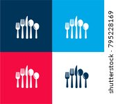 cutlery set of eating tools...