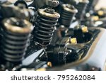 photo of engine parts | Shutterstock . vector #795262084