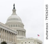 united states capitol building... | Shutterstock . vector #795262435