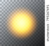 vector modern sun background.... | Shutterstock .eps vector #795267691
