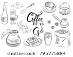vector illustration.hand drawn... | Shutterstock .eps vector #795275884