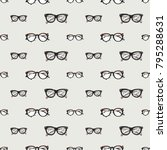 fashion pattern with hipster... | Shutterstock .eps vector #795288631