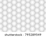 vector seamless pattern with... | Shutterstock .eps vector #795289549