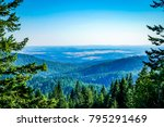 a spectacular view from mount... | Shutterstock . vector #795291469