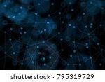 bitcoin background  crypto... | Shutterstock . vector #795319729
