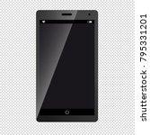 mobile device smartphone  ... | Shutterstock .eps vector #795331201