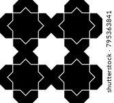 seamless surface pattern design ...   Shutterstock .eps vector #795363841