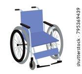wheelchair illustration vector   Shutterstock .eps vector #795369439