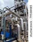 oil refinery   Shutterstock . vector #79538485