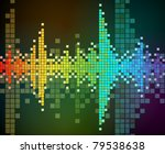 abstract vector background of... | Shutterstock .eps vector #79538638