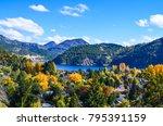 lacar lake  san martin de los... | Shutterstock . vector #795391159