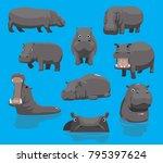 hippopotamus yawning cute...