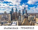 philadelphia  pennsylvania  usa ... | Shutterstock . vector #795409315