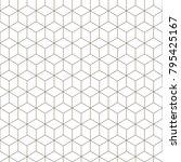 linear seamless geometric... | Shutterstock .eps vector #795425167
