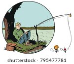 Stock Illustration. People In...