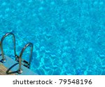 Pattern Of Water Of Swimming...
