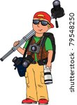 Color Vector Cartoon Image Of...
