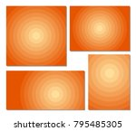 circle backgrounds template set ... | Shutterstock .eps vector #795485305