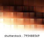 abstract  dark vintage brown... | Shutterstock . vector #795488569